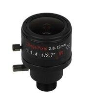 3 0Megapixel Fixed Iris M12 HD 2 8 12mm Varifocal Cctv IR HD Lens F1 4