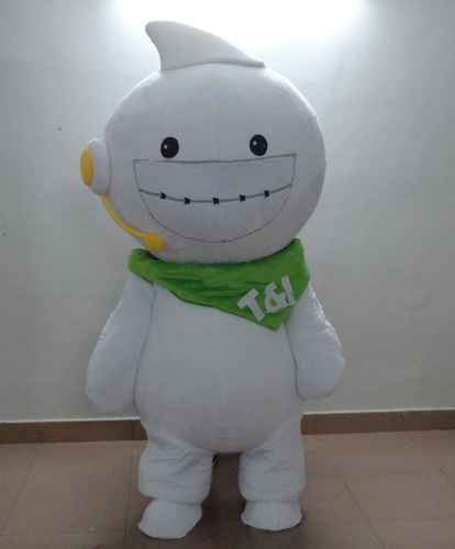 Cartoon costume/halloween christmas baby mascot costume for Halloween party event