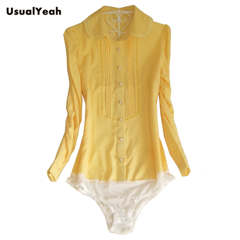 3ce55041c59 Popular Lace Yellow Shirts-Buy Cheap Lace Yellow Shirts lots from .