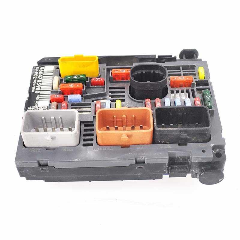 detail feedback questions about baificar genuine fuse box unit Peugeot 207 baificar genuine fuse box unit assembly under bonnet controller 9664705980 bsm r02 for peugeot 407 citroen