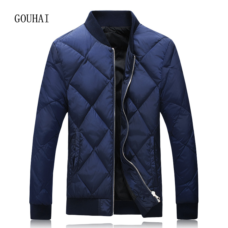 Winter Jacket Mens White Duck Down Jacket Men Plus Size 4XL 5XL Fashion Short Light Down Men Feather Jacket Male Parka Homme цены онлайн