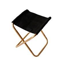 Портативный складной стул для рыбалки ультра легкий алюминиевый уличный походный сплав стул для пикника& T8