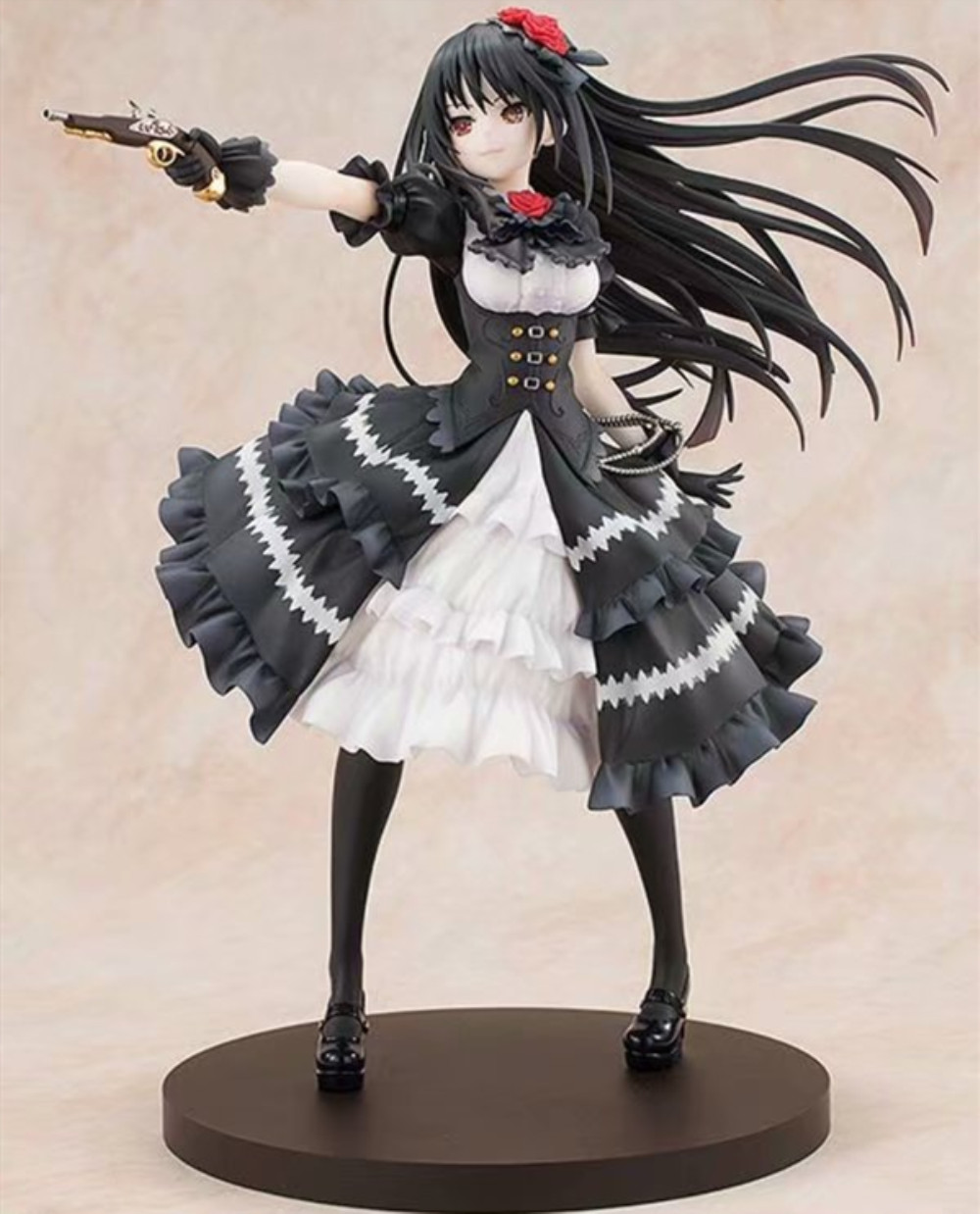 Anime Date A Live Nightmare Tokisaki Kurumi Action Figure Fantasia 30th Anniversary Figurine PVC Model Doll Girl Gift Toys PM 1