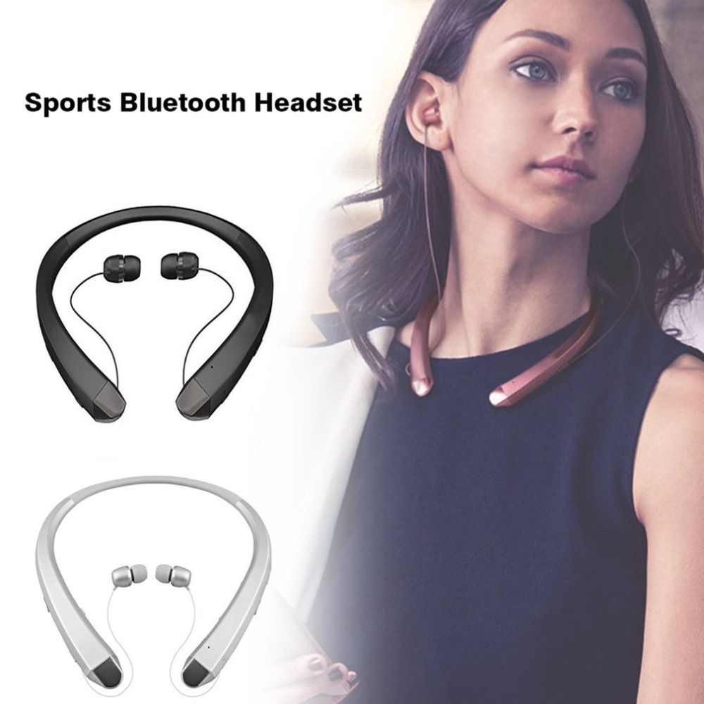 Wireless Earphones Headset Bluetooth Earphone Headset Sport Stereo Wireless neckband Earphone for iPhone Samsung LG dropshipping