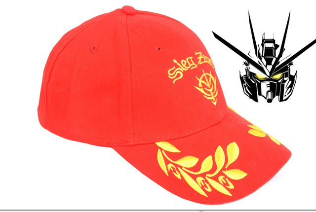 Gundam Char Zick Zeon emblem red base ball hat HT115