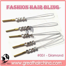 buy Weaving Wig Cap Hair Net will get a Gift Fashion Crystal Hair Accessories for Wedding