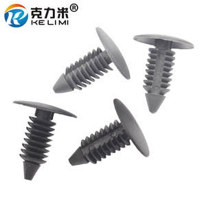 Fastener Rivet-Clip Bumper-Shield Car-Fender Earn Retainer Universal 100pieces MI KE