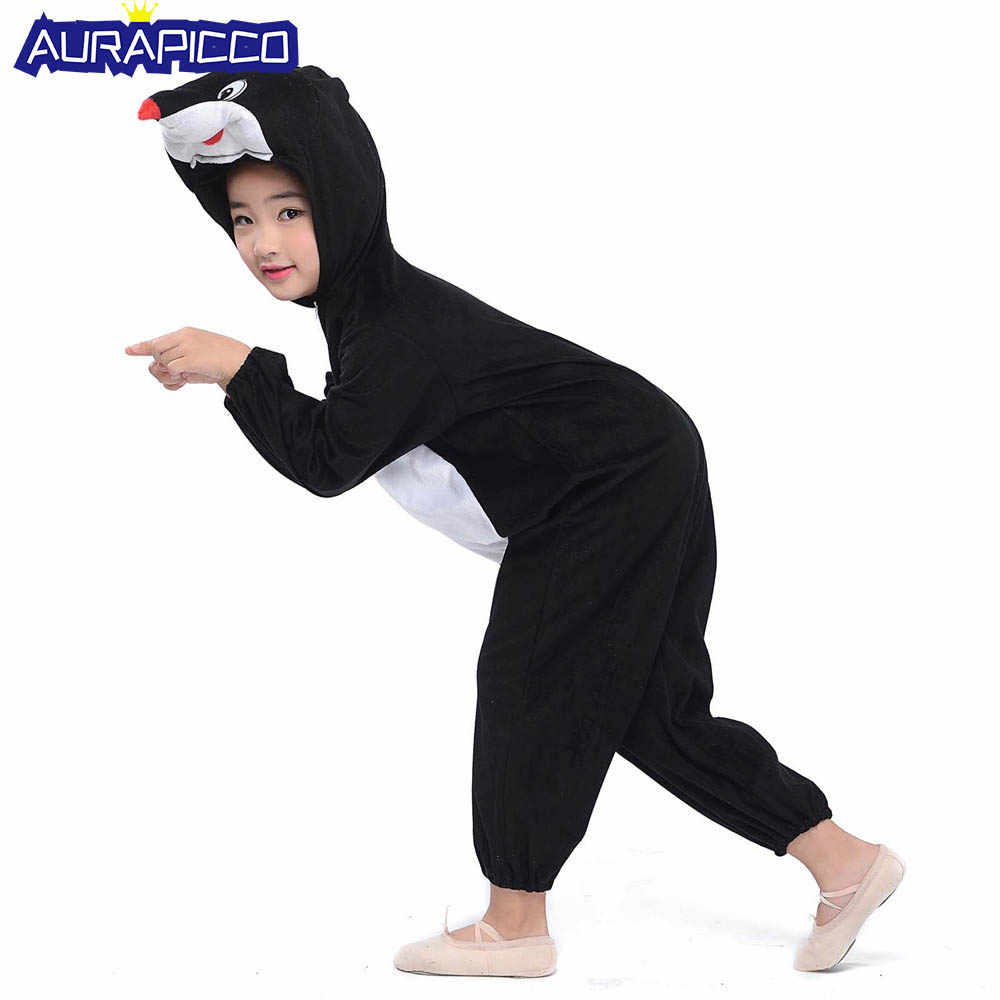 beefe8289dbe Kids Moles Costume Little Mouse Onesies Animal Costume Fancy Dress Animal  Onesies Jumpsuit Children Pajamas Carnival