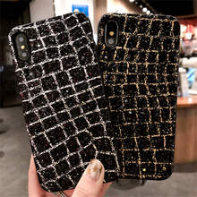 Fashion Diamond Bling Glitter Phone Case For Apple iPhone 7 6 S 6S 8 Plus X Shining Powder Sequins Back Cover