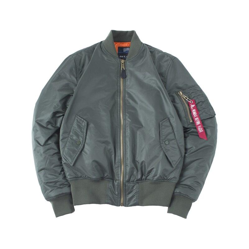 Hommes Hip Hop rembourré Letterman hiver imperméable en Nylon bouffant rouge femmes manteau grande taille Air Force pilote Ma1 bombardier veste de vol
