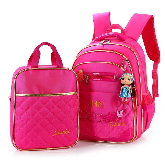 A set high quality backpack children school bags student book bag kids  girls backpack bags Multi Colors Children s Backpacks bag a2f82c1a861b8