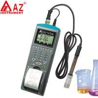 AZ9861 PH 計 PH データレコーダー電子 Ph メータープリンタインタフェース釣り養殖水質モニター検出器 -