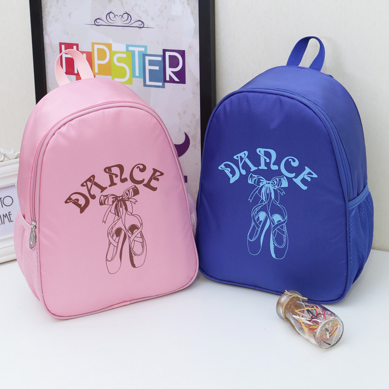 Girl Kids Ballet Dance Bag Backpack For Dance Child Dancing Bags Cute Waterproof Canvas Ballerina Dance Ballet Bags