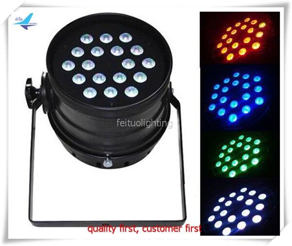 16lot Stand dj 18x10w DJ LED Par Can RGB LED Wash Light