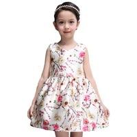 여자 드레스 8년 오래된 여름 스타일 아이 드레스 여자 꽃 공주 드레스 소녀 아이 옷