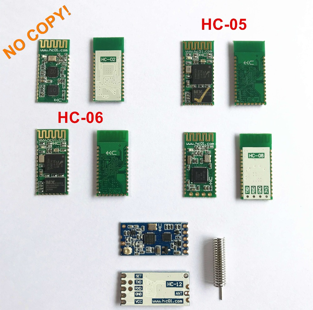Genuine Original HC-02 HC-05 HC-06 HC-08 HC-12 HC Family Modules Authorized Distributor NO COPY