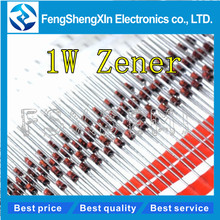 2500 cái/lốc 1 W Zener diode DO41 3.3 V 24 V 1N4728A 1N4730A 1N4732A 1N4733A 1N4735A 1N4736A 1N4738A 1N4740A 1N4742A 1N4744A 1N4749A