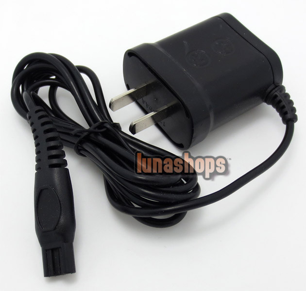 220v HQ8500 US Plug Universal Power <font><b>Charger</b></font> Cord Adapter For <font><b>Philips</b></font> Norelco <font><b>Shaver</b></font>