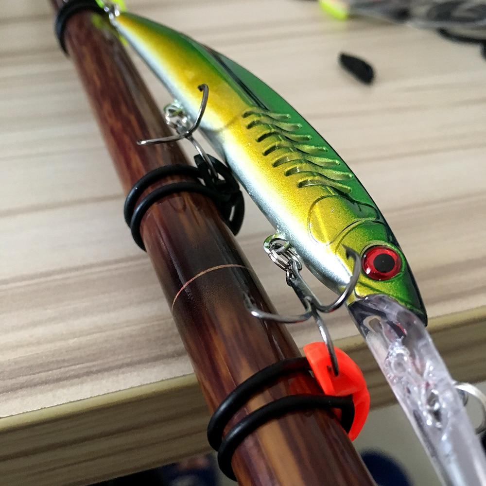 4pcs New Hook Secure Keepers Holders Lures Jig Hooks Safe Keeping Fr Fishing Rod