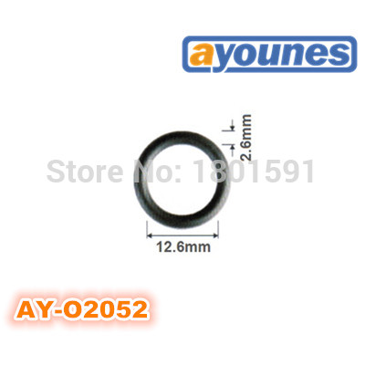 free shipping 200pieces viton oring seals 12.6*2.6mm for fuel injection repair kits replace auto parts For AY-O2052