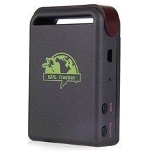 Alta calidad GPS tracker Mini GPS/GSM/GPRS Vehículo Car Tracker Dispositivo de Rastreo En Tiempo Real TK102B Dispositivo Persona Track enchufe de LA UE