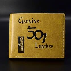 Творческий бумажник мужской кожаный кошелек для кредитных карт деньги моды маленький мальчик кошелек доллар дизайнерские короткие деньги