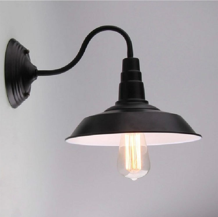 Vintage industrial lighting home loft light fixtures luminaire d26cm vintage industrial lighting home loft light fixtures luminaire d26cm metal wall lamps cafe pendant light restaurant wall sconces in led indoor wall lamps audiocablefo