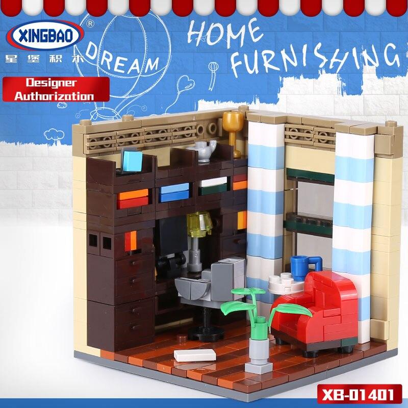 XINGBAO 01401 Genuine 2116PCS Building Series The Living House Set Building Blocks Bricks Educational Toys As Christmas Gifts 72pcs educational building blocks set