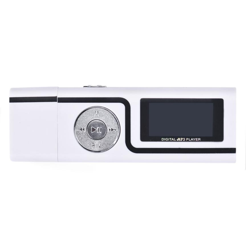 Widely Used Portable Player USB MP3 Music Player LCD Screen Support 16GB TF Card #Y