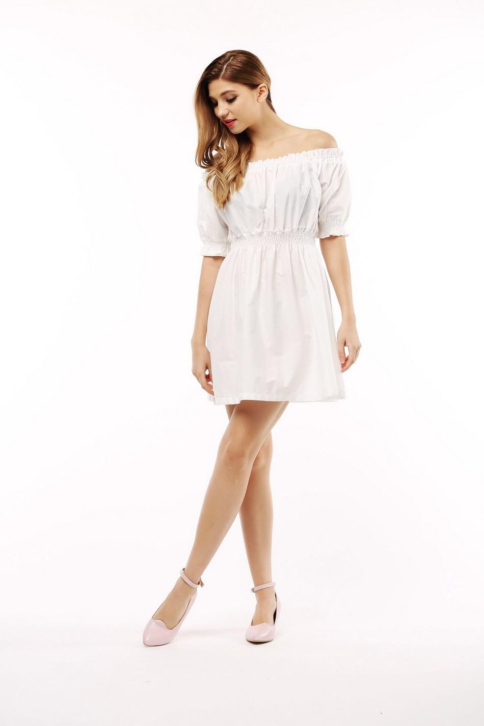 100% bawełna nowy 2017 jesień lato kobiety dress krótki rękaw casual sukienki plus size vestidos wc0380 10