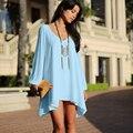 2016 Mulheres Cardigans quimono Roupas blusas femininas Blusa Ocasional Camisas Padrão Chiffion Camisas Camisa Roupas Plus Size muçulmano