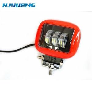 Image 4 - 2pcs LED עבודת מנורת 30W 12V 24V Led רכב ספוט אור לאדה ניבה טויוטה אופנוע טרקטור אוטומטי עבודת LED אור בר