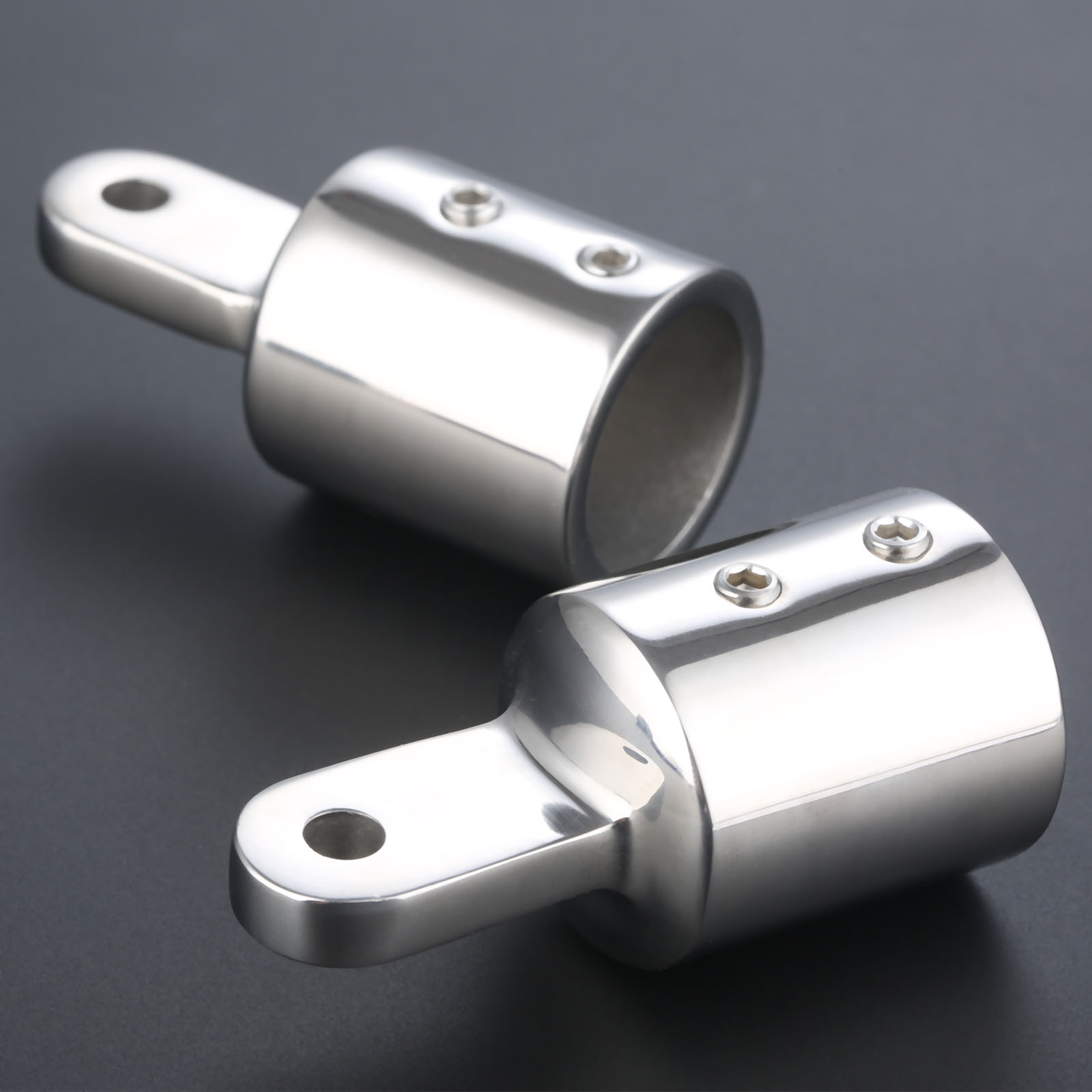 Set 3 Bow Bimini Top Fittings Fit 7//8/'/' Dock Hardware US Shipping High Quality