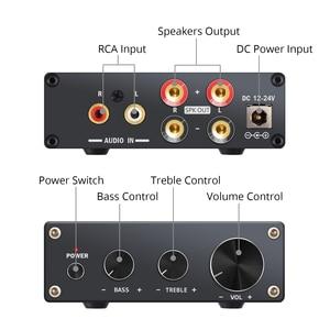 Image 3 - Prozor 50w amplificador de potência digital hi fi classe d integrado amplificador de áudio estéreo de 2 canais com baixo e controle agudos