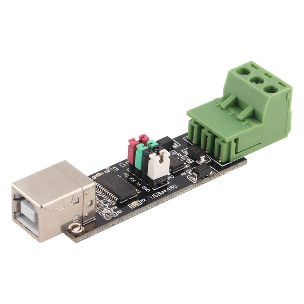 USB 2.0 to TTL RS485 Serial Converter Adapter FTDI Module FT232RL Dual-function Protection Top Sale yn485i industrial lightning protection magnetic isolation usb to rs485 usb 485 serial data line converter
