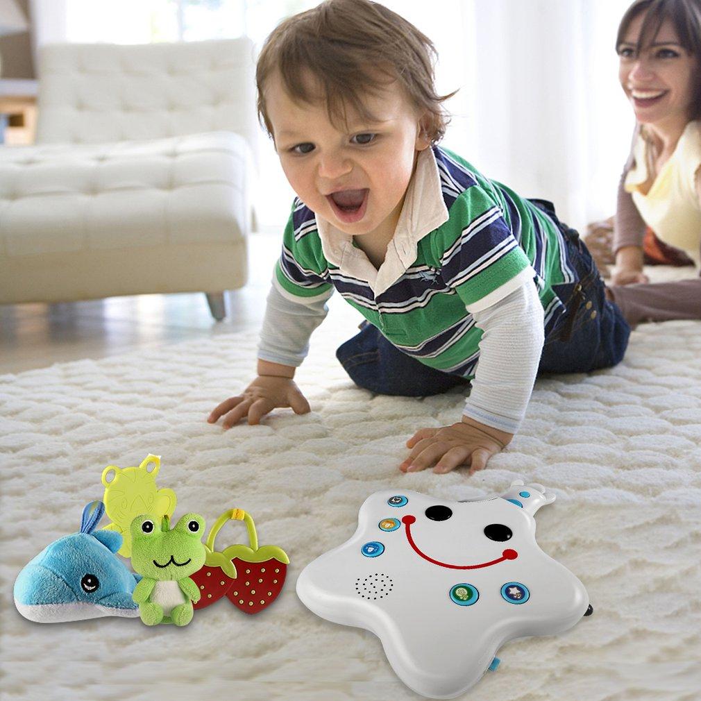 LESHP Проецирование кроватки музыкальный мобильный ребенок мальчик и девочка постельные принадлежности погремушка игрушка музыкальная кров... - 4