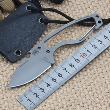 Tactical Survival Fixed Knives CPM S35VN Blade & Handle Outdoor Pocket Straight Knife Camping Hunting EDC Tool With K Sheath