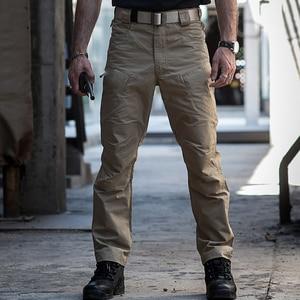 Image 3 - Hiking Pants Ripstop Waterproof Military Pants Men Tactical Cargo Trousers Outdoor Sport Mountain Trekking Fishing Hunting Pants