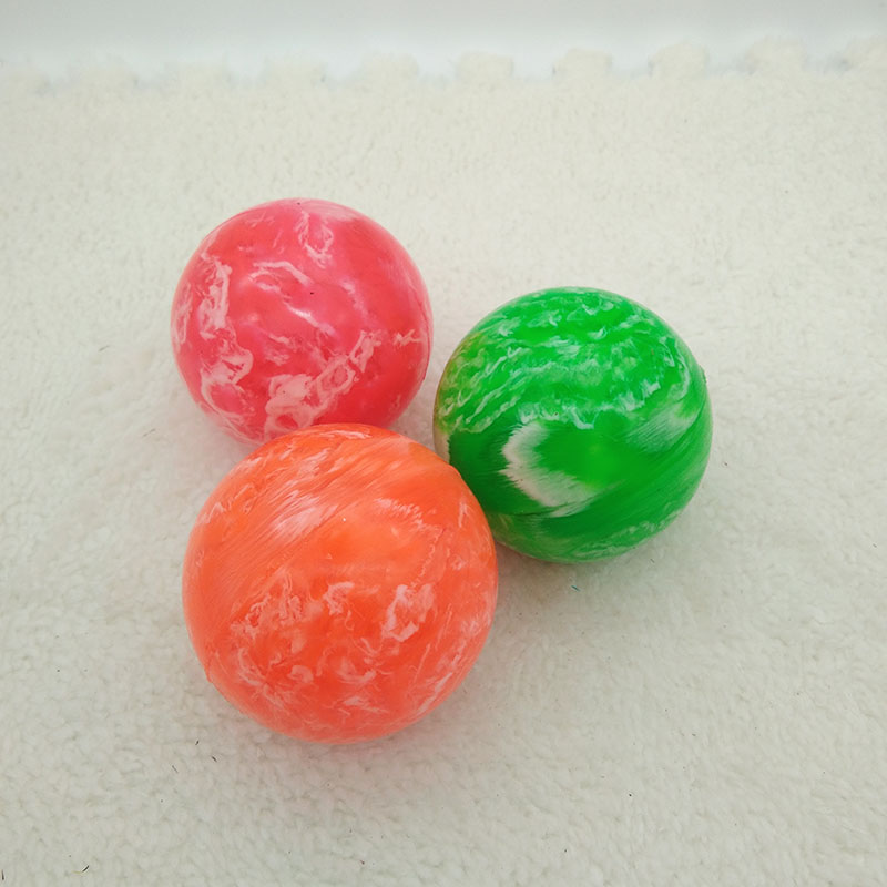 5.5cm Cloud Bouncing Balls Soft Rubber Bouncy Malabares Juggling Jumping Outdoor Sports Funny Baby Toys For Kids