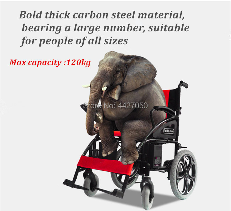 Free shipping hot sale limited time discount folding electric wheelchair cost-effective scooter 6