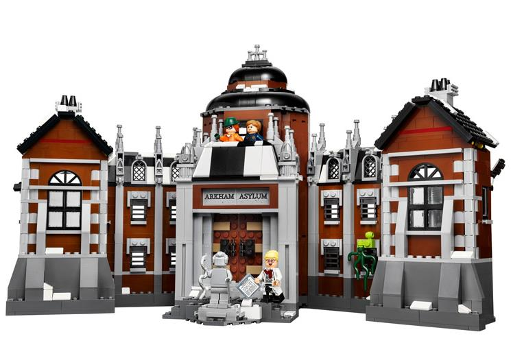New Batman Movie Arkham Asylum Building Blocks DIY Super Heroes Bricks Toys For Children Compatible with 70912 Lepin new lepin 16009 1151pcs queen anne s revenge pirates of the caribbean building blocks set compatible legoed with 4195 children