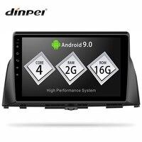 Dinpei Android 9.0 Car DVD Player GPS Navigation Multimedia for KIA Optima K5 Radio 2016 2017 2018 MP5 WIFI
