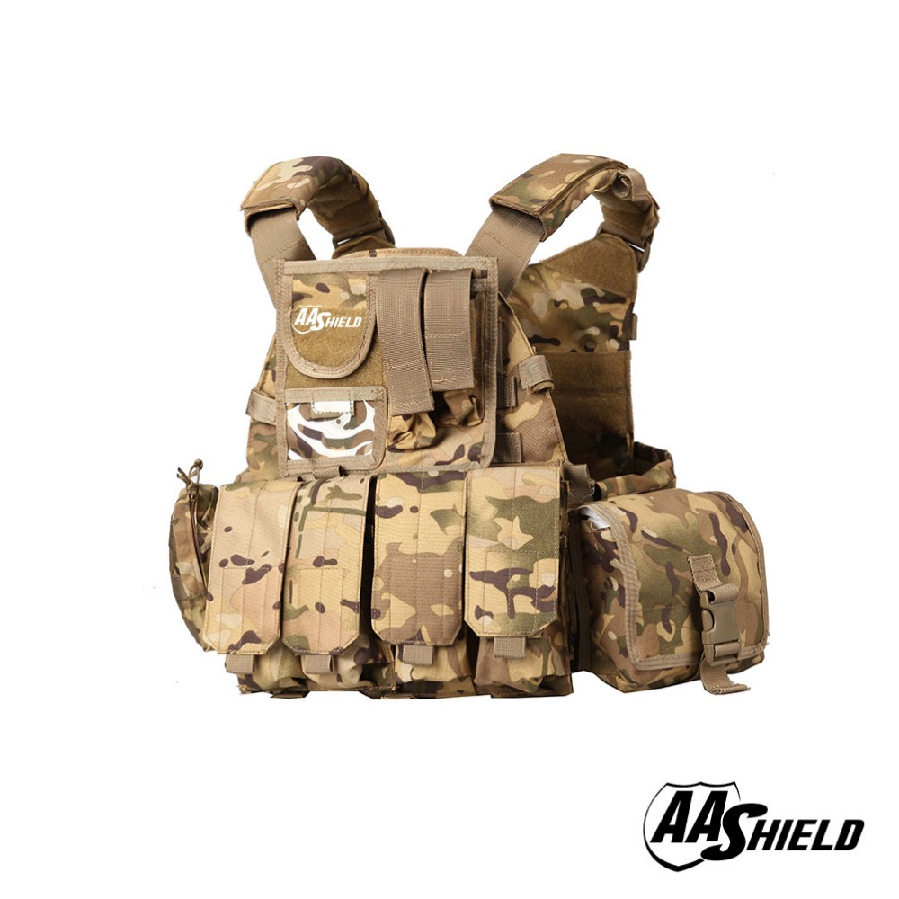 Safety Clothing Romantic Aa Shield Molle Plates Carrier 6094 Style Military Tactical Equipment Vest /mc Ideal Gift For All Occasions