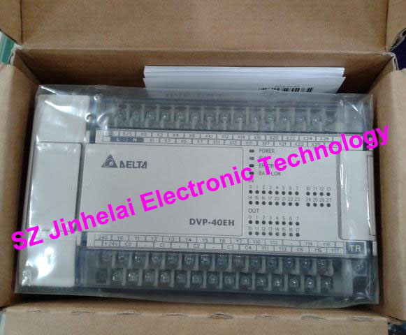 все цены на 100% New and original DVP40EH00T3, DVP40EH00R3 Delta PLC 40points host,24DI/16DO онлайн