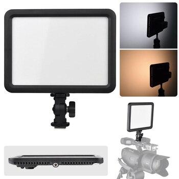 Godox LEDP120C 3300K-5600K Changeable Video LED Light Lamp for Camera Camcorder