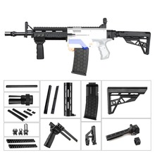 WORKER M4 Kits Dress UP Kit Combo 13 Items Imitation Kit 3D Printing High Strength Plastic Combo For Stryfe Modify Toy For Nerf