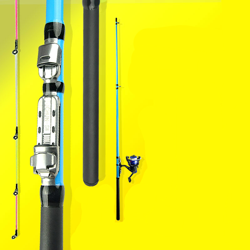 Portable Winter Fishing Boat/Raft Rod Sea Stream River Ice Fishing Rod Ultra Light Super Strength Fishing Hand Rod point break pq 4c wd high quality elastic rod cork handle portable rod strong sensitive sea rod fishing gear fast transport