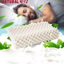 2017 de Alta Calidad de los hombres suaves Almohadas ortopédicas soporte para el cuello de Memoria almohada de Látex masaje promover el sueño profundo de las partículas del masaje almohada