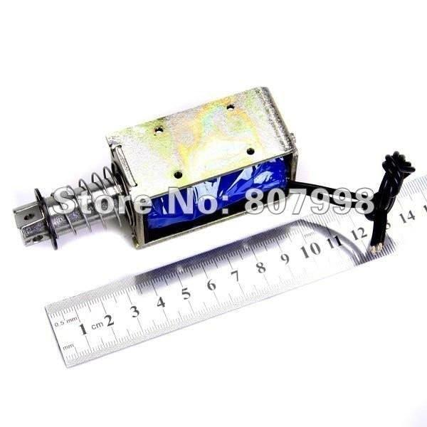 все цены на NEW DC 12V Push Type Open Frame Solenoid Electromagnet Actuator Holding 8N 10mm ZYE1-1564Z