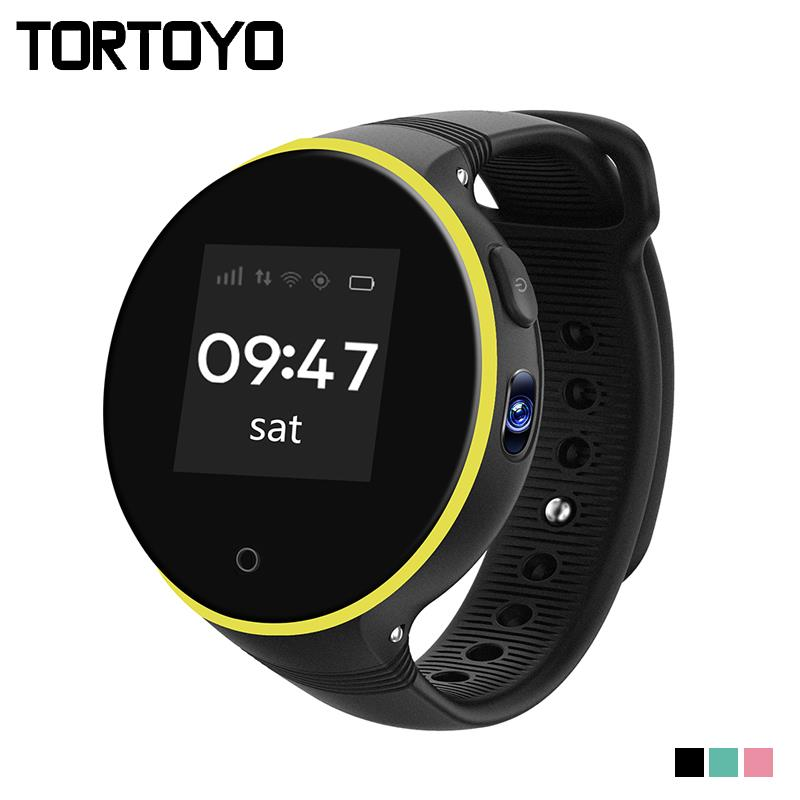 TORTOYO S669 Kid Tracking Smart Watch Phone 1.22 IPS Round Screen Accurate GPS Positioning Remote Monitor Wristwatch Baby Gift
